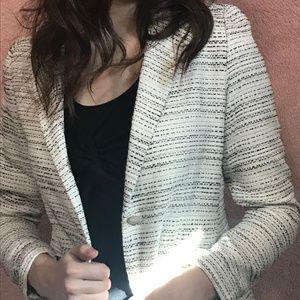 White CAbi blazer